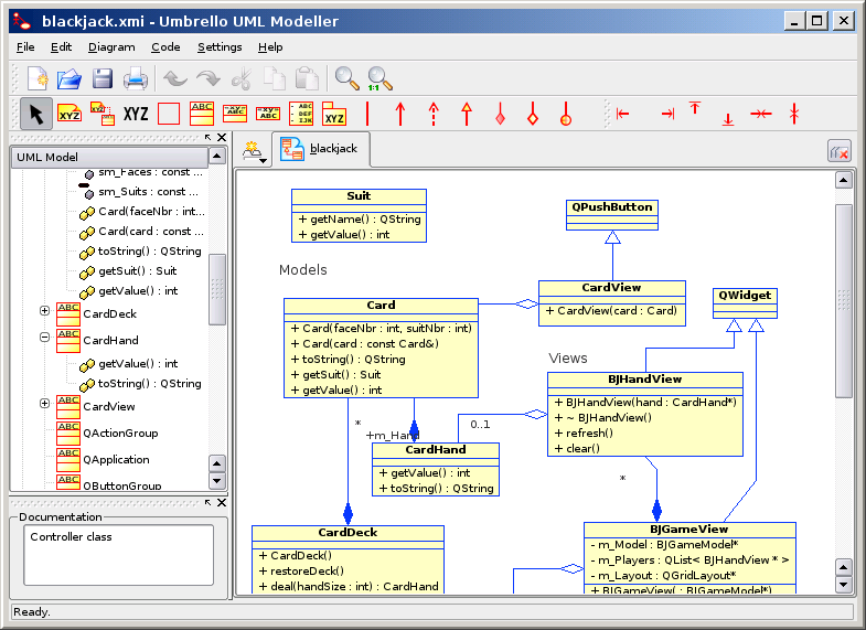 Uml modeling tools Open source diagram tool