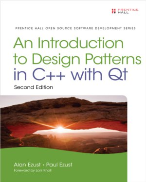 An Introduction to Design Patterns in C++ with Qt book cover