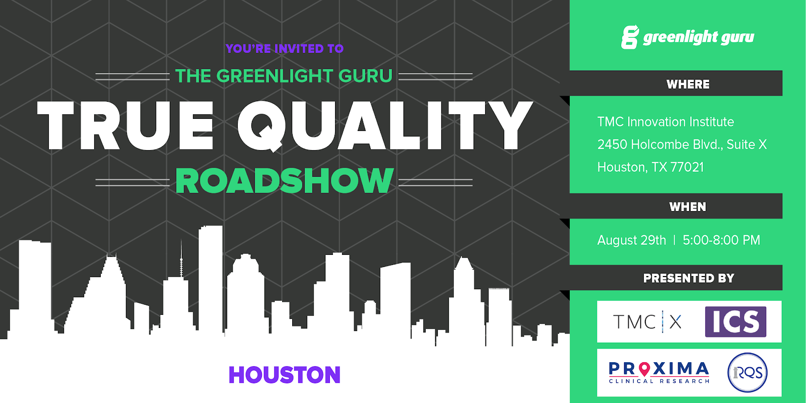 Greenlight Guru Houston