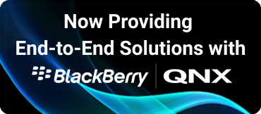 Now providing end-to-end solutions with Blackberry|QNX