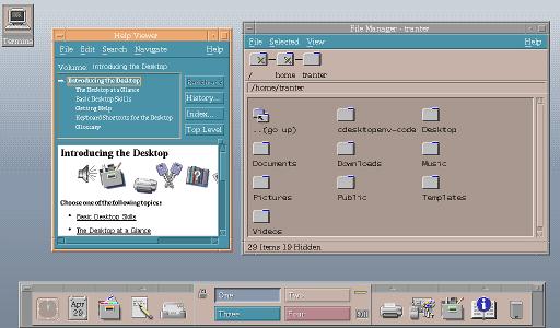 Retrocomputing: Motif and CDE | ICS