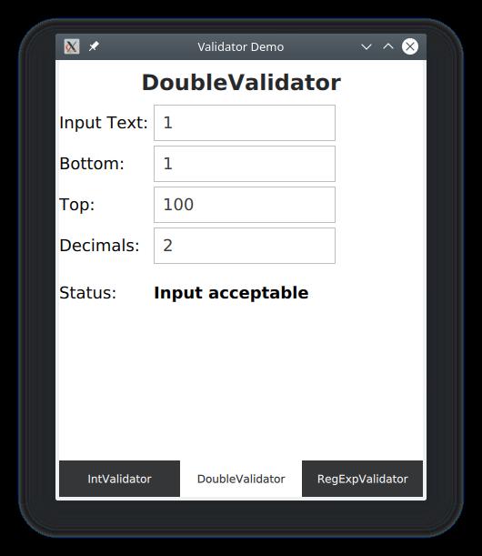 A Look at Input Masks and Validators in the QML Environment | ICS