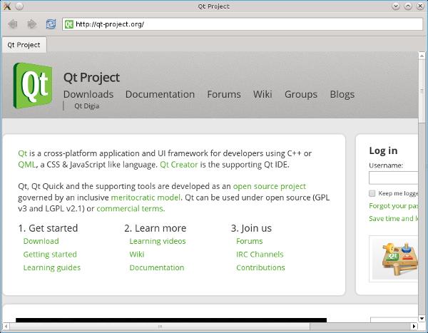 Building QtWebEngine | ICS