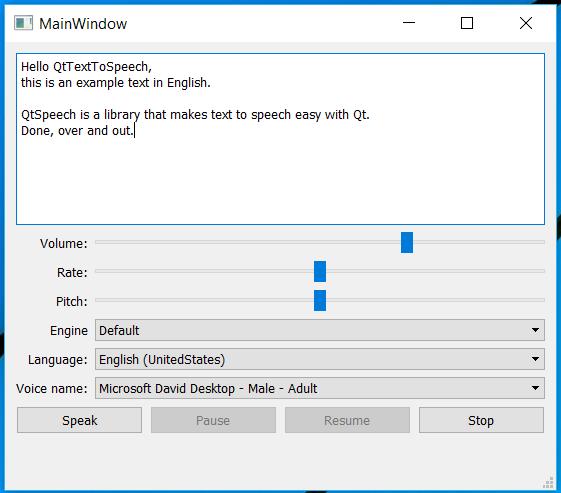 Text to Speech: A Look at the Qt Speech Module | ICS