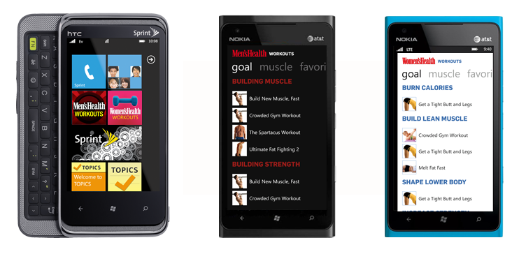 windows phone 7 examples