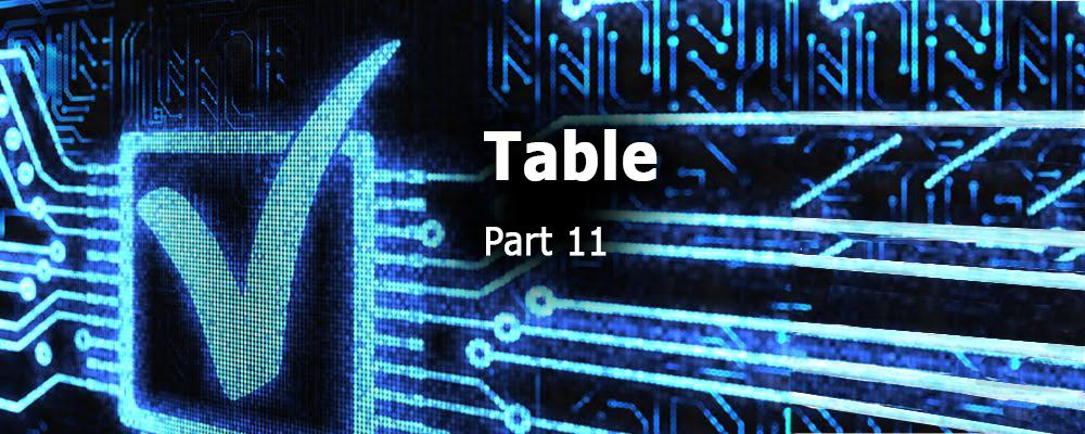 Creating QML Controls From Scratch: Table