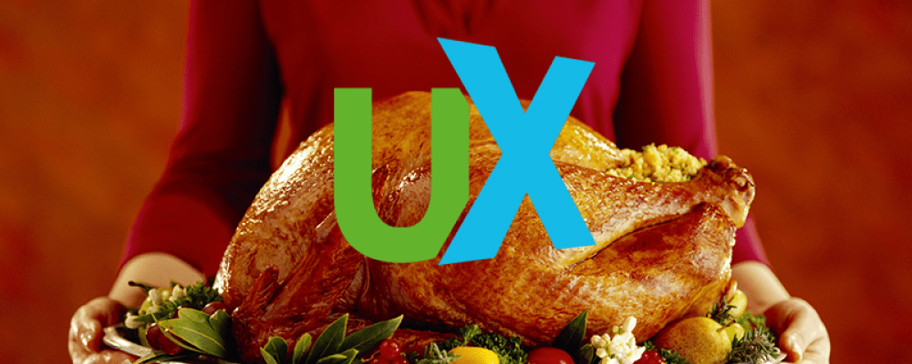 Giving Thanks for UX Design