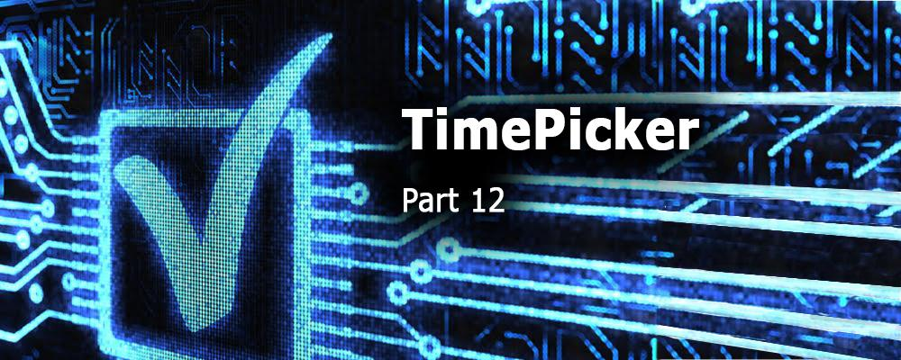 Creating QML Controls From Scratch: TimePicker