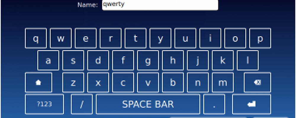 Alternatives for Virtual Keyboards