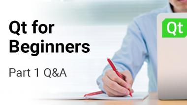 Questions & Answers from Qt for Beginners Part 1 | ICS