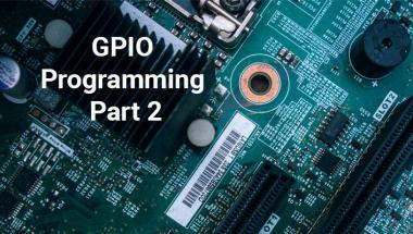 GPIO Programming header part 2