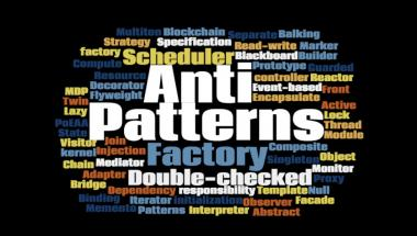 anti-pattern word cloud