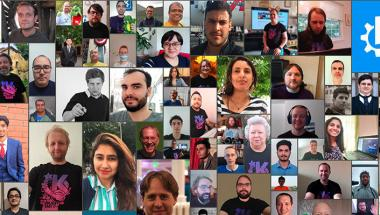 Developers who attended KDE Akademy 2020