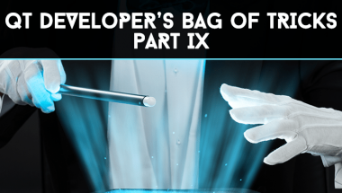 Qt Developer's Bag of Tricks
