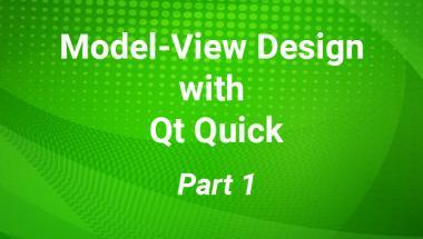 Exploring Model-View Design With Qt Quick | ICS