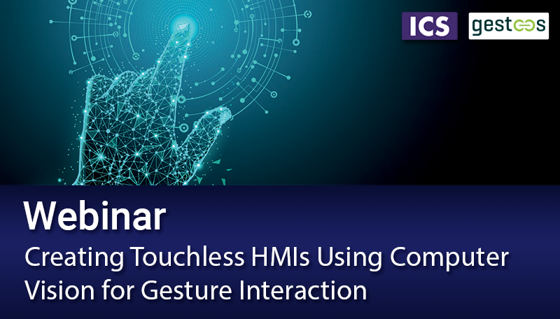 Creating Touchless HMIs Using Computer Vision for Gesture Interaction