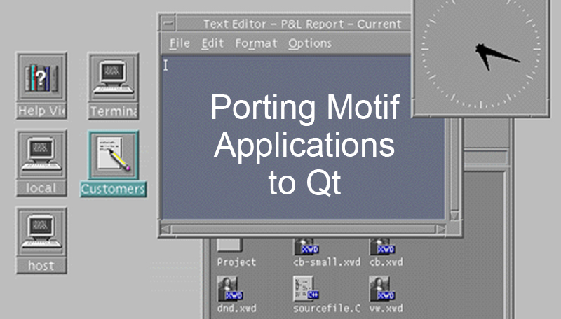 Porting Motif Applications to Qt