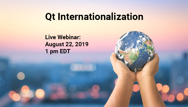 Qt internationalization webinar