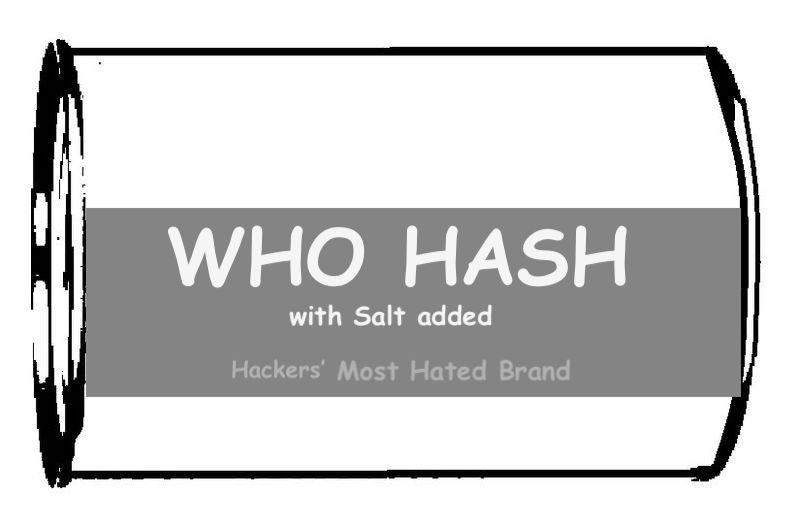Who Hash with Salt
